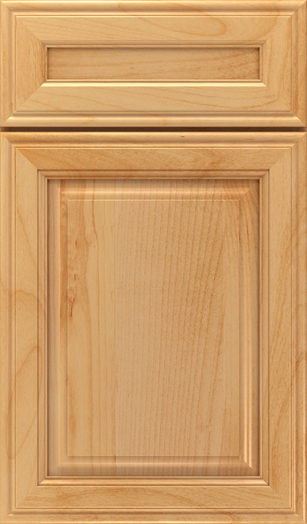 Galleria 5-Piece Alder Raised Panel Cabinet Door in Natural