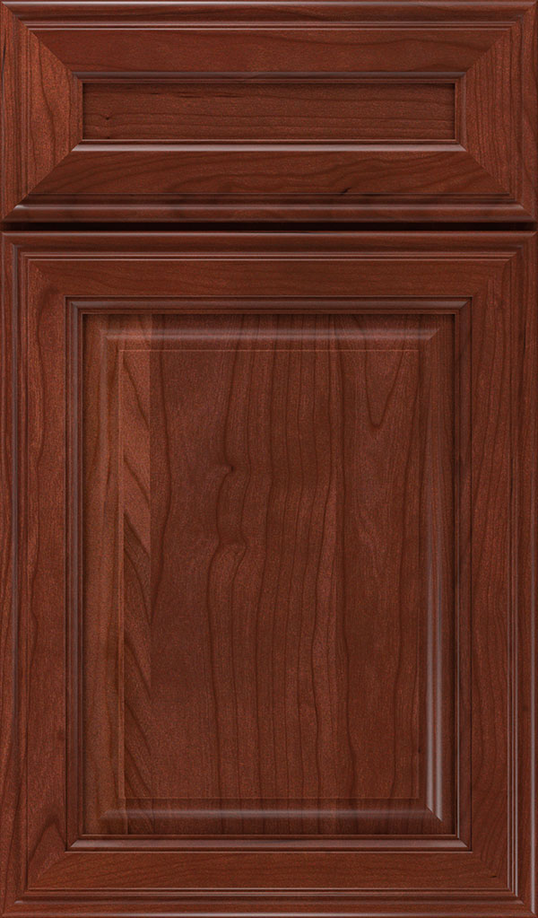 Galleria 5-Piece Cherry Raised Panel Cabinet Door in Arlington