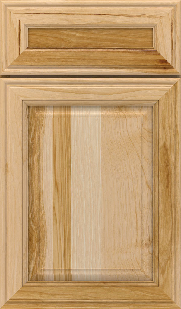 Galleria 5-Piece Hickory Raised Panel Cabinet Door in Natural
