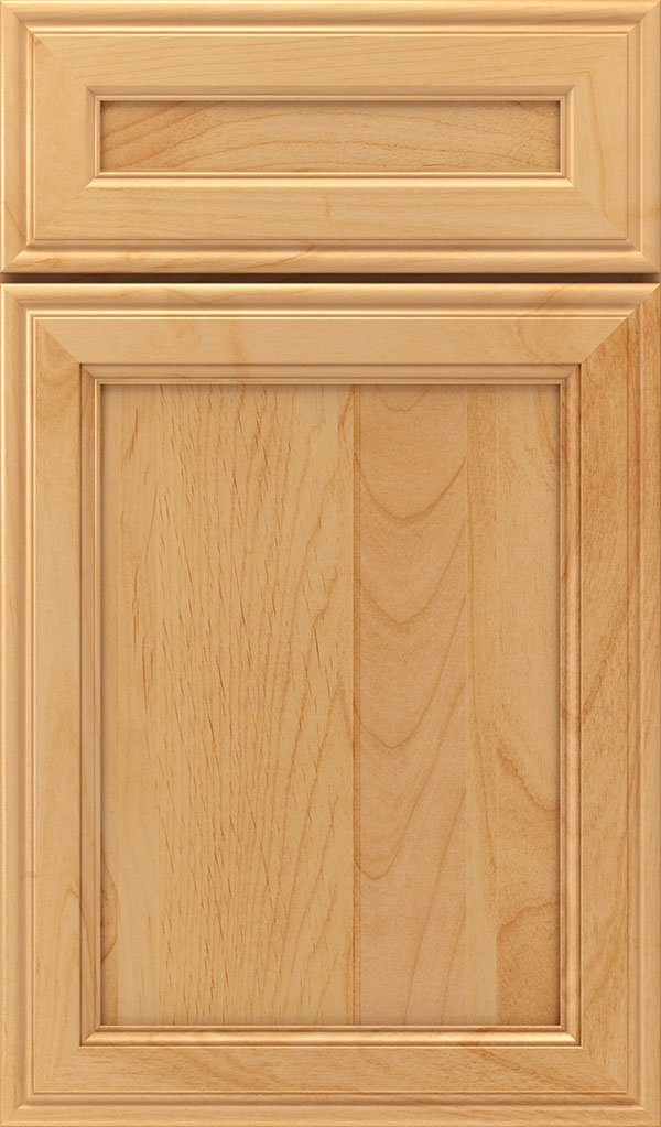 Girard 5-Piece Alder Raised Panel Cabinet Door in Natural
