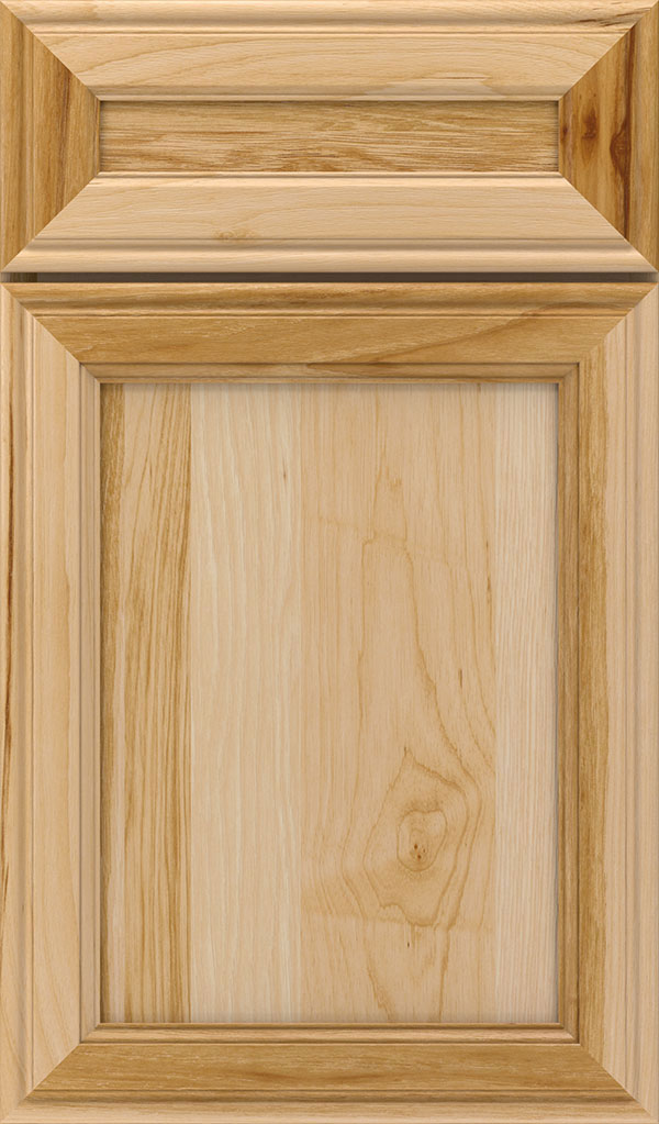 Girard 5-Piece Hickory Raised Panel Cabinet Door in Natural