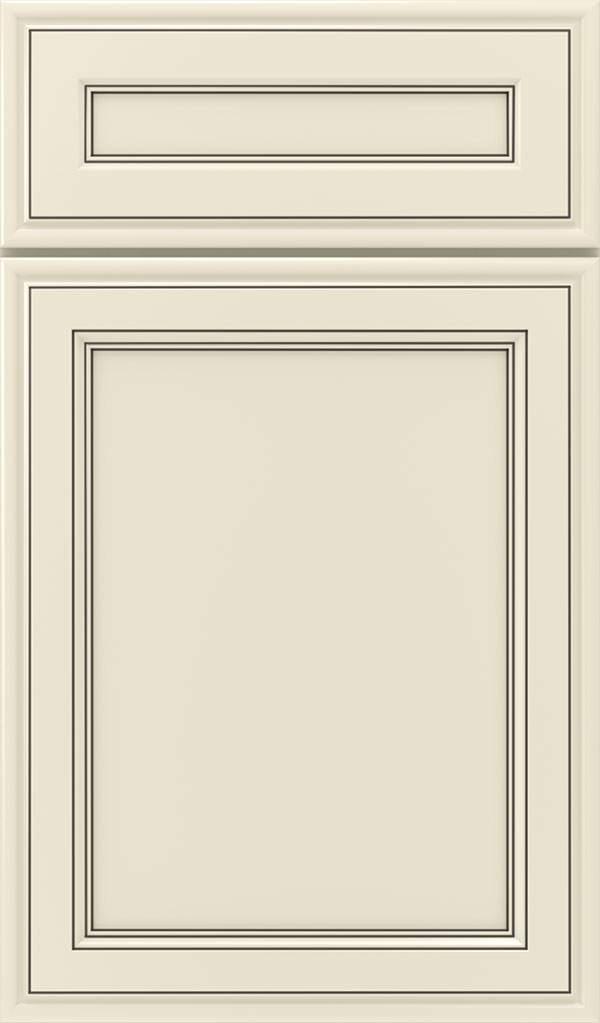Girard 5-Piece Maple Raised Panel Cabinet Door in Chantille Espresso