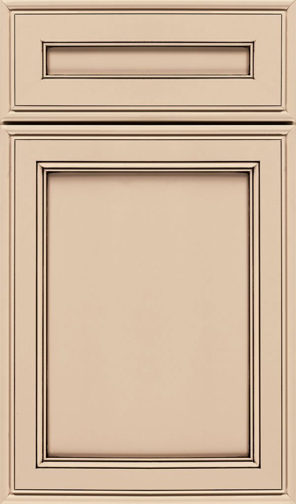 Girard 5-Piece Maple Raised Panel Cabinet Door in Kashmir Espresso