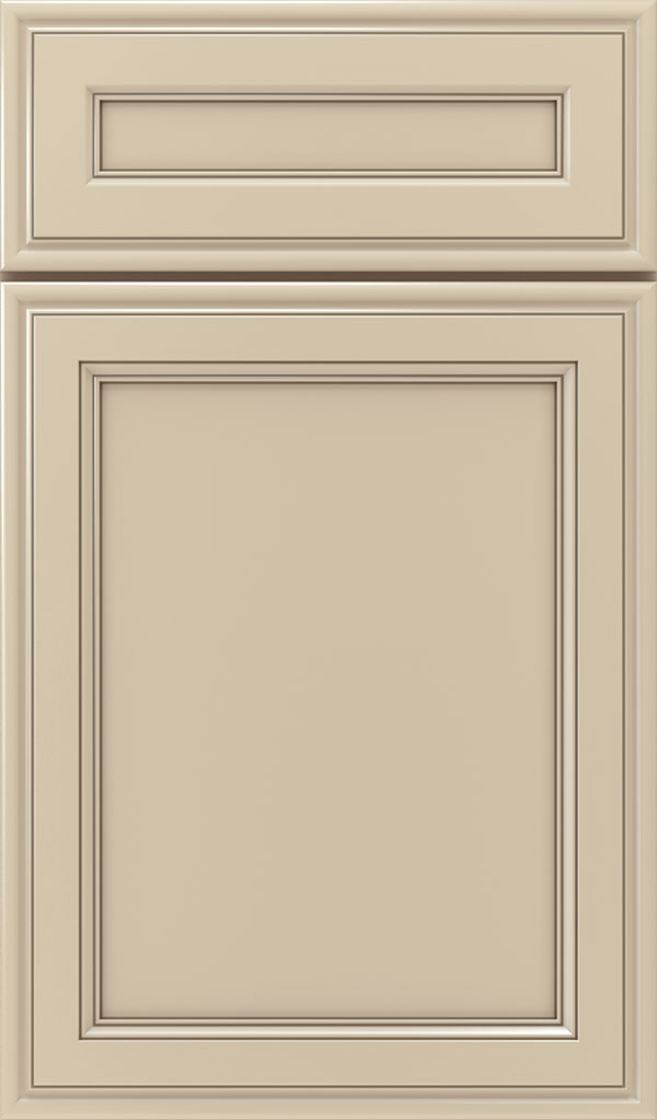 Girard 5-Piece Maple Raised Panel Cabinet Door in Lunar Twilight