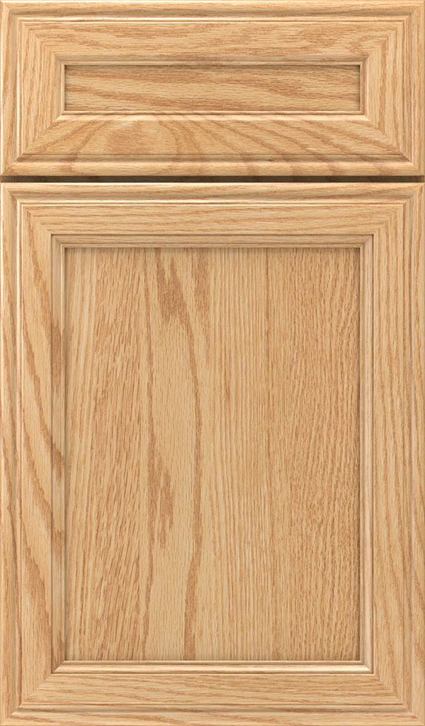 Girard 5-Piece Oak Raised Panel Cabinet Door in Natural