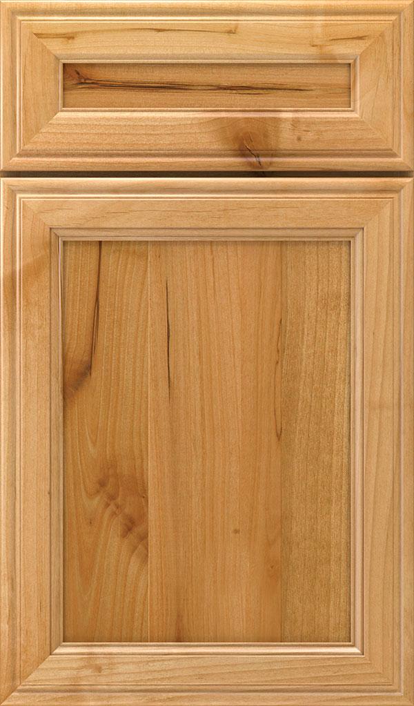 Galleria; Girard 5 Piece Rustic Alder Raised Panel Cabinet Door In Natural