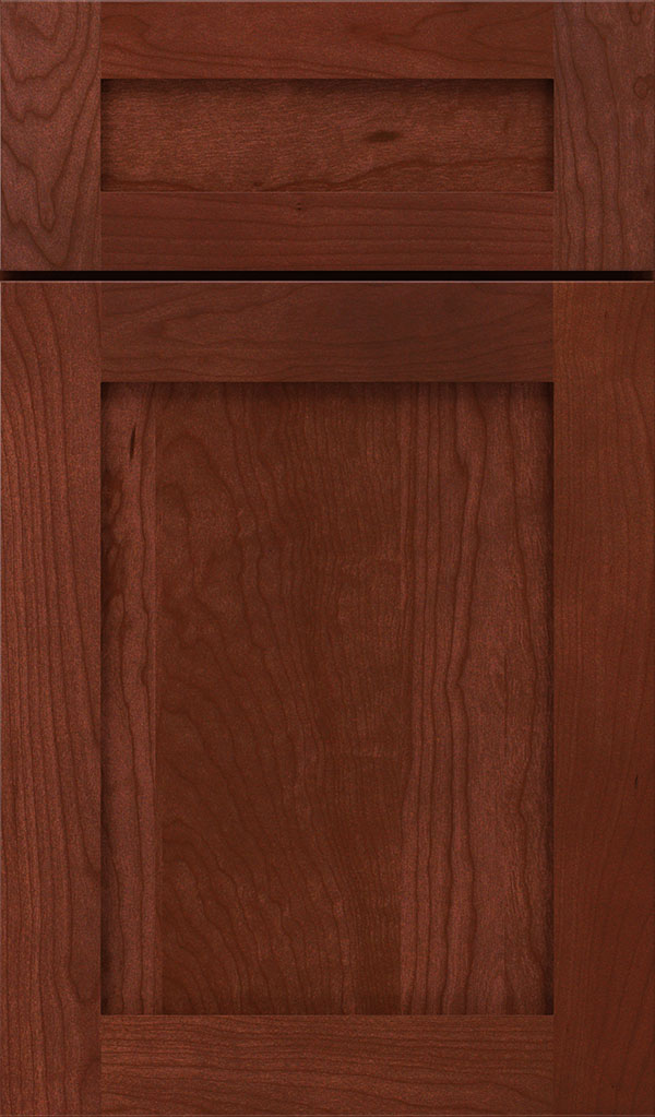 Harmony 5-Piece Cherry Shaker Cabinet Door in Arlington