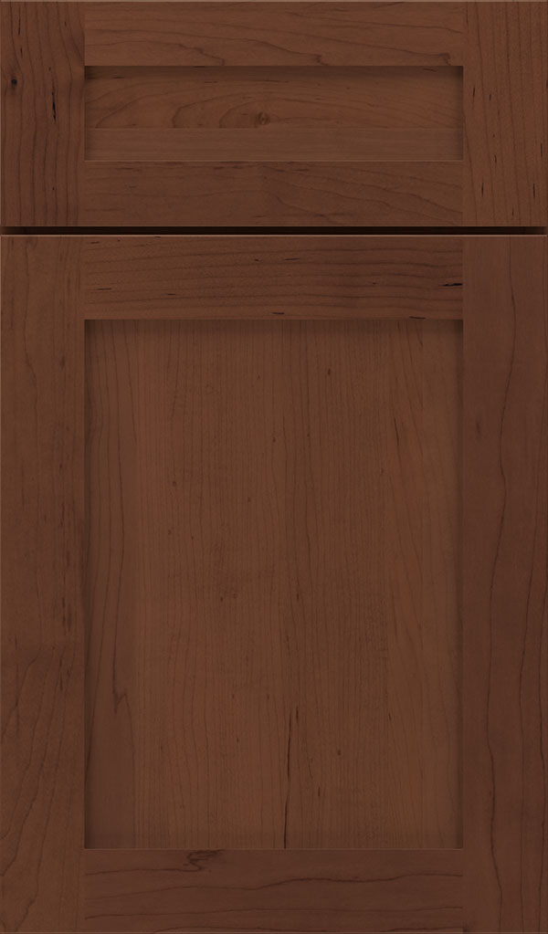 Harmony 5-Piece Maple Shaker Cabinet Door in Sepia
