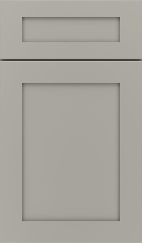 Harmony 5-Piece Maple Shaker Cabinet Door in Stamped Concrete