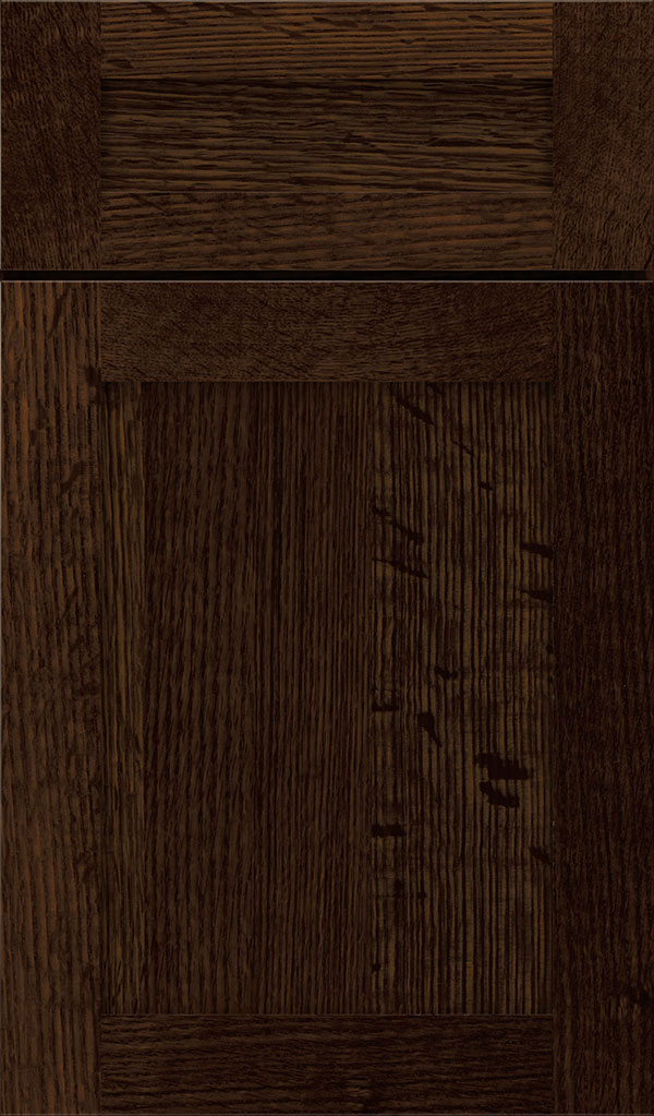 Harmony 5-Piece Quartersawn Oak Shaker Cabinet Door in Bombay