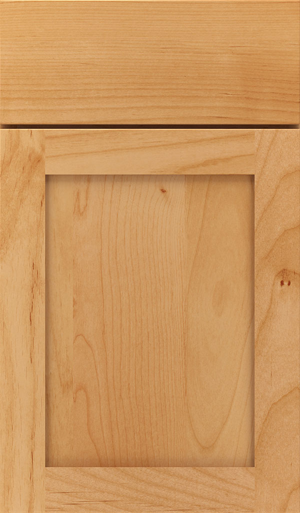 Harmony Alder Shaker Cabinet Door in Natural
