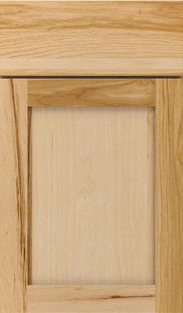 Harmony Hickory Shaker Cabinet Door in Natural