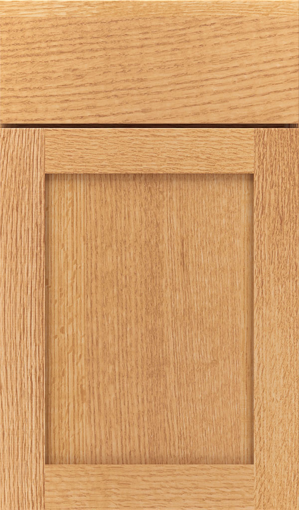 Harmony Quartersawn Oak Shaker Cabinet Door in Natural
