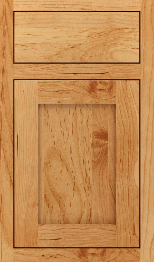 Harmony Alder Inset Cabinet Door in Natural