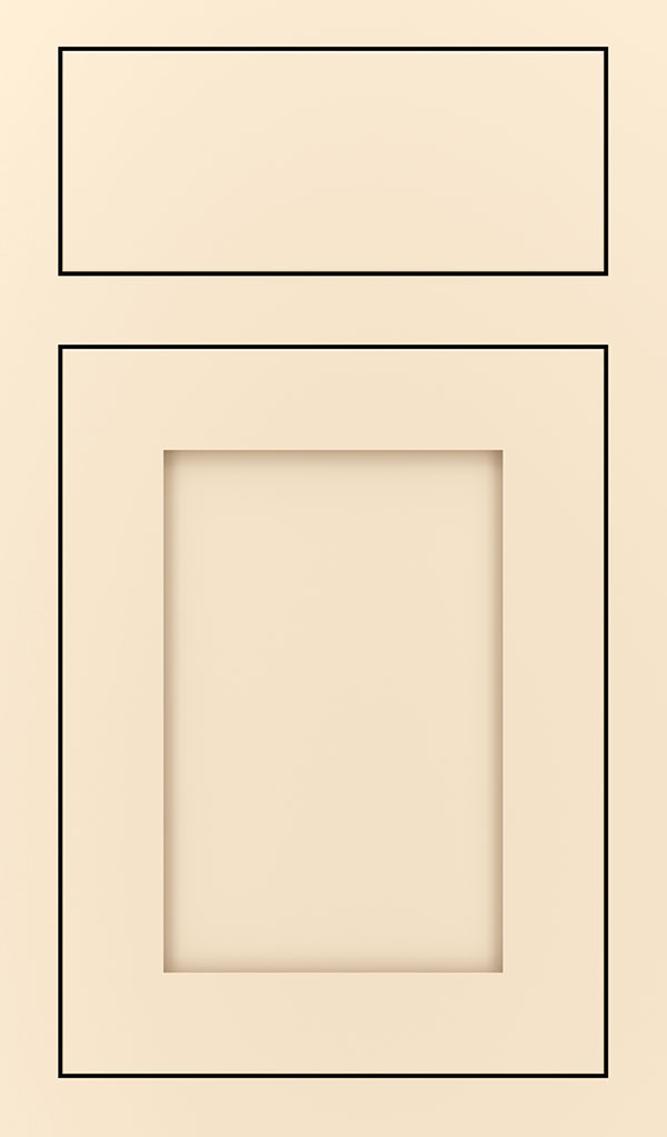 Harmony Maple Inset Cabinet Door in Jasmine