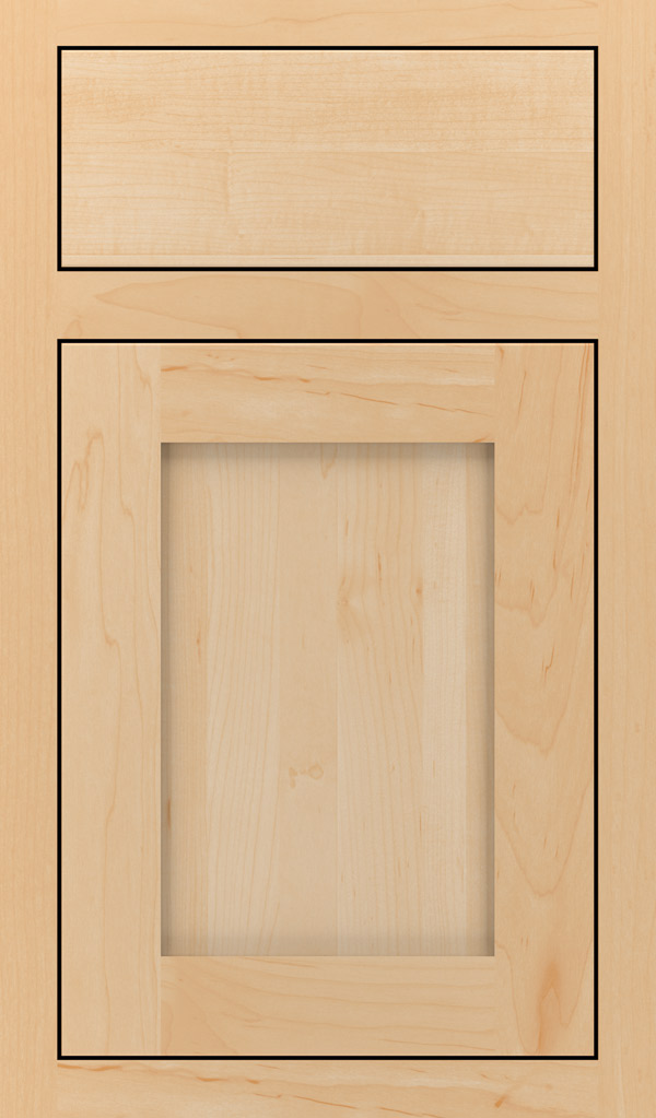 Harmony Maple Inset Cabinet Door in Natural