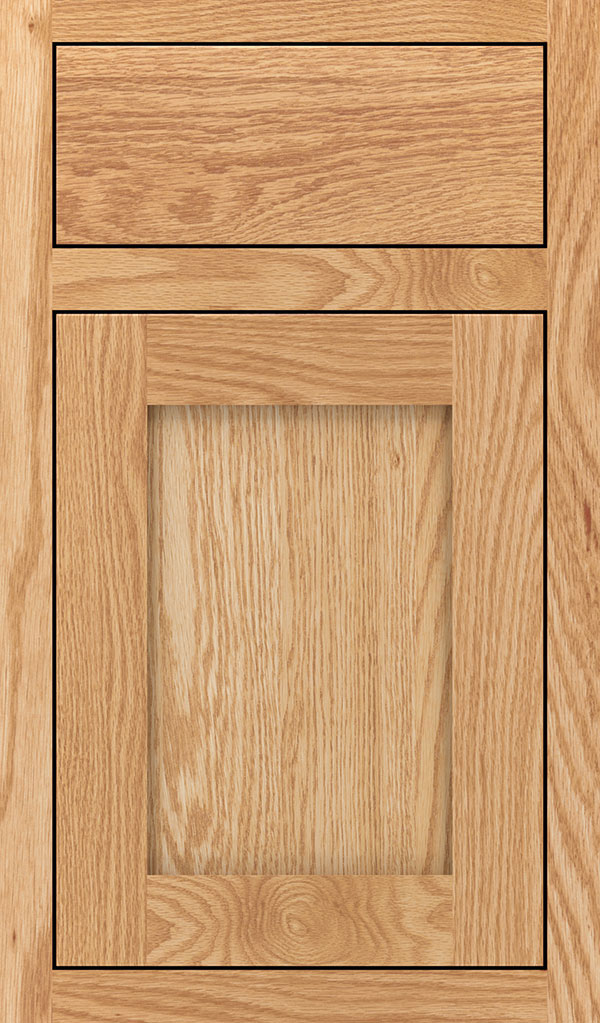 Harmony Oak Inset Cabinet Door in Natural