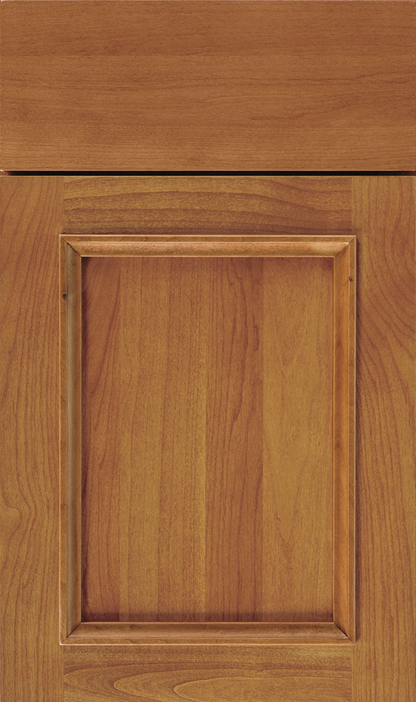 Haskins Alder recessed panel cabinet door in Pheasant