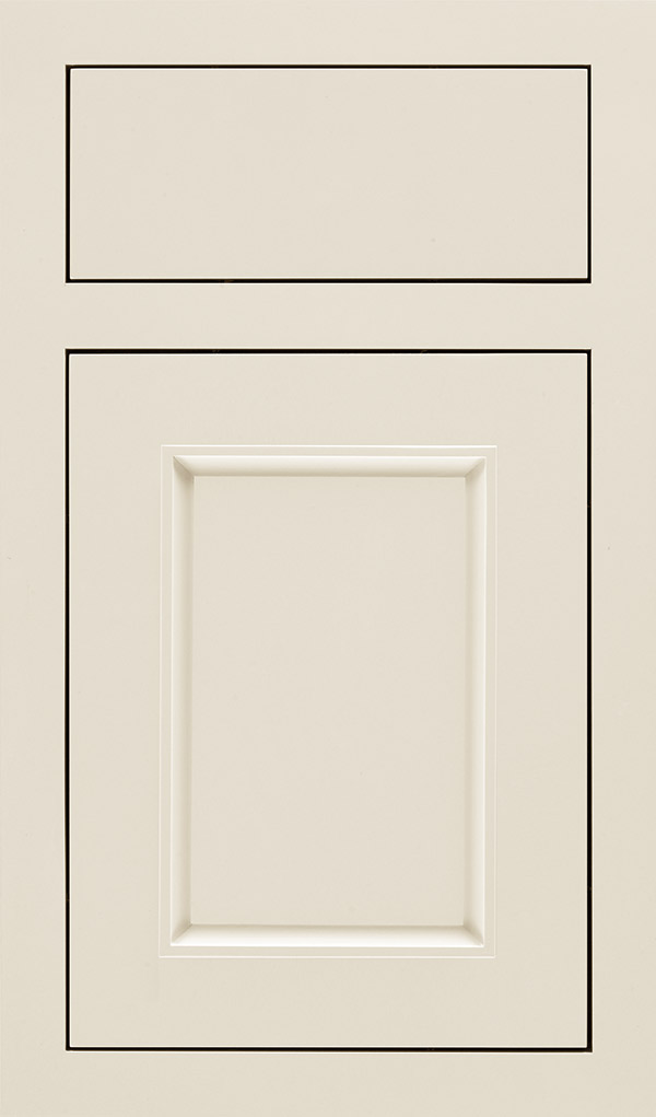 Haskins Maple inset cabinet door in Chantille