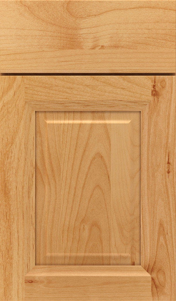 Hawthorne Alder Raised Panel Cabinet Door in Natural