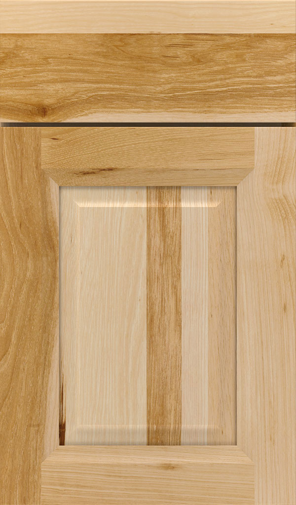 Hawthorne Hickory Raised Panel Cabinet Door in Natural