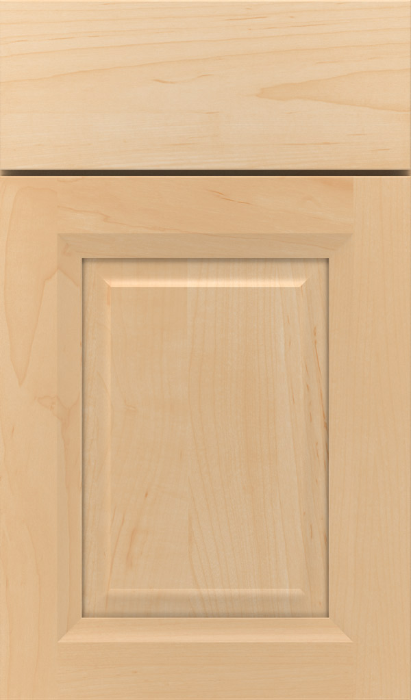 Hawthorne Maple Raised Panel Cabinet Door in Natural
