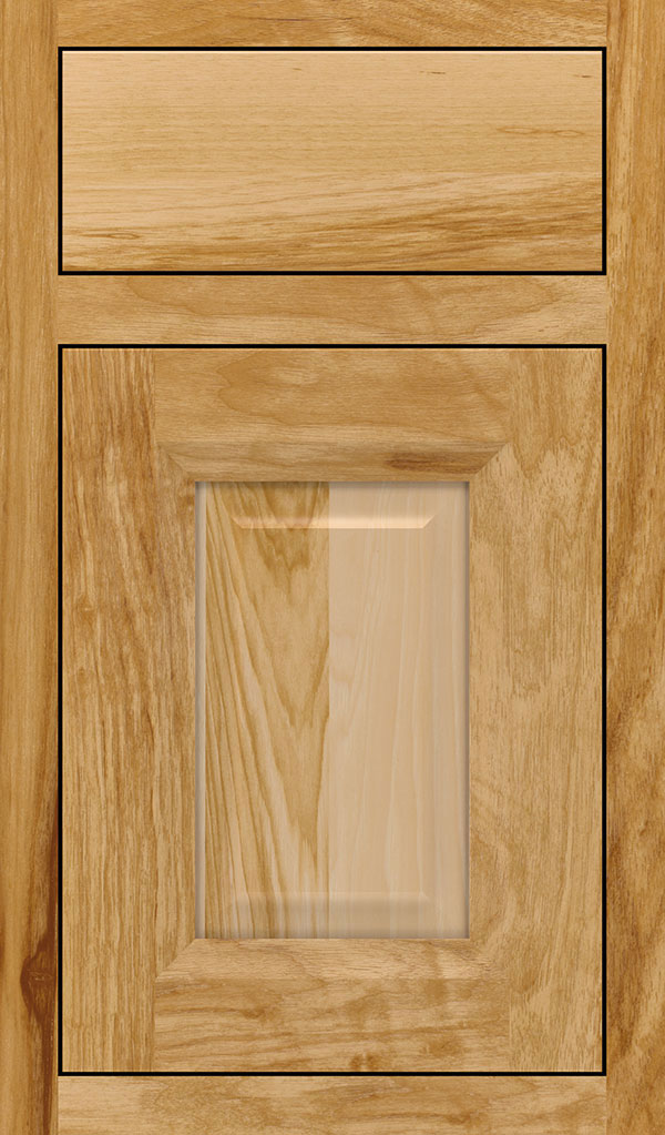 Hawthorne Hickory Inset Cabinet Door in Natural