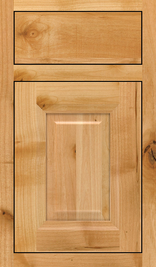 Hawthorne Rustic Alder Inset Cabinet Door in Natural