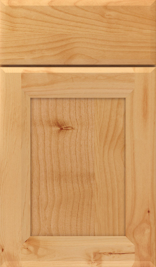 Huchenson Alder Recessed Panel Cabinet Door in Natural