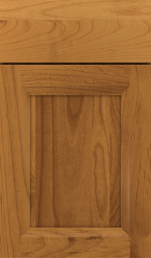 Huchenson Alder Recessed Panel Cabinet Door in Wheatfield