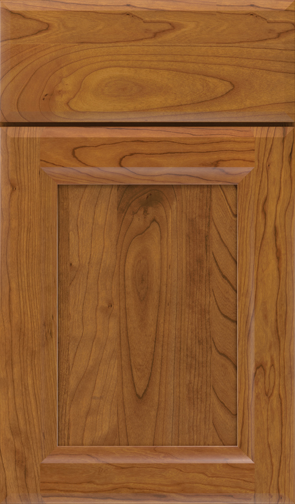 Huchenson Cherry Recessed Panel Cabinet Door in Pheasant