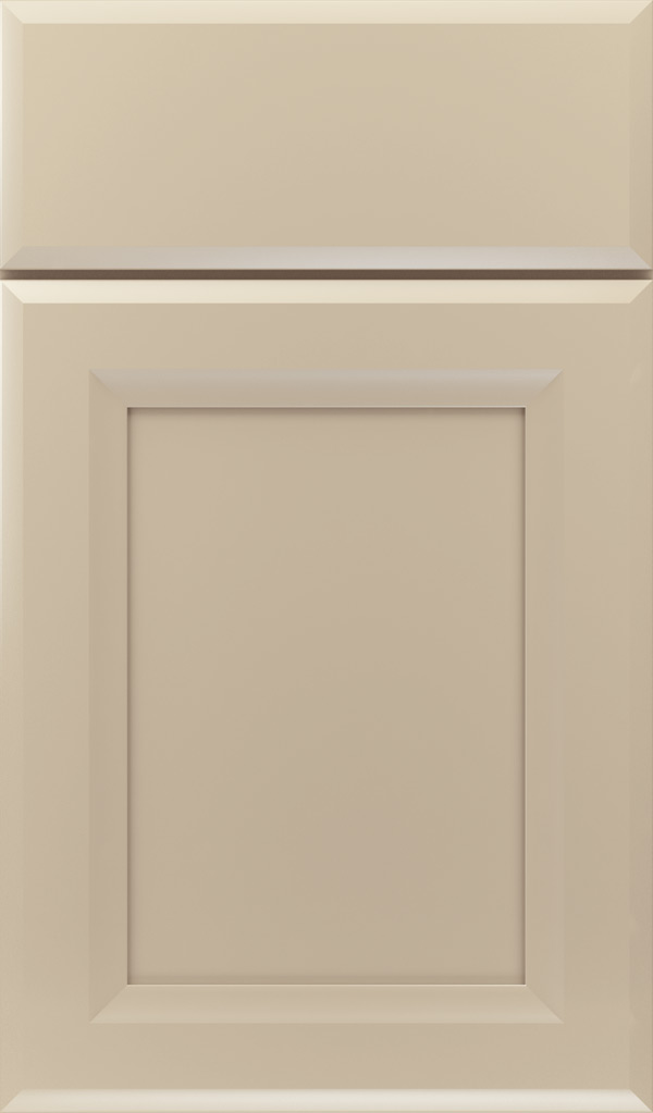 Huchenson Maple Recessed Panel Cabinet Door in Lunar