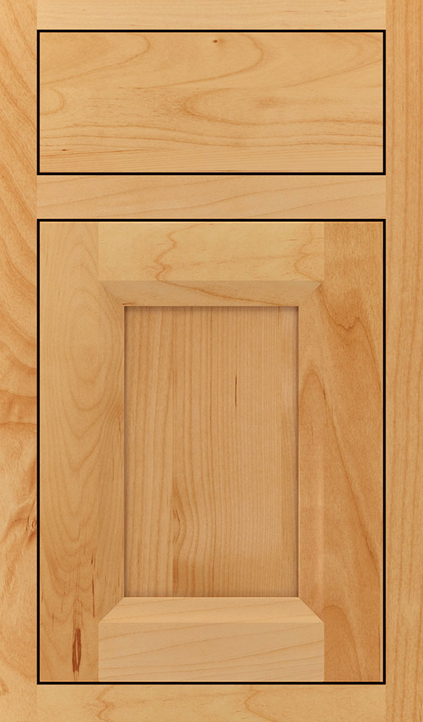 Huchenson Alder Inset Cabient Door in Natural