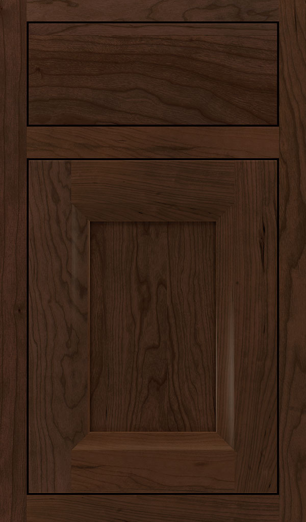 Huchenson Cherry Inset Cabinet Door in Bombay