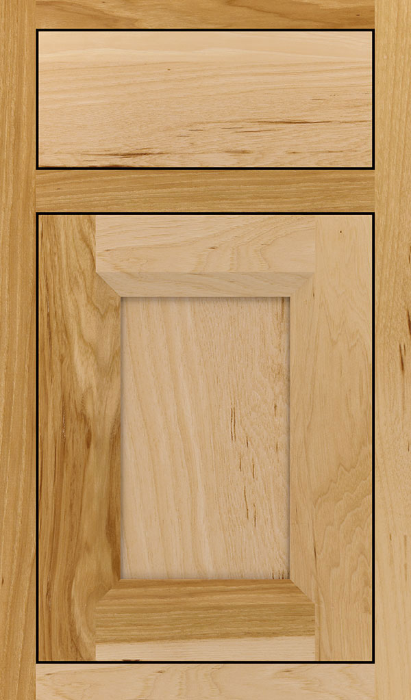 Huchenson Hickory Inset Cabient Door in Natural