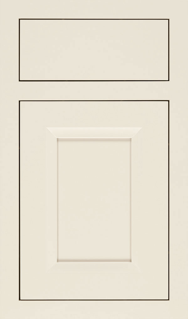 Huchenson Maple Inset Cabinet Door in Chantille