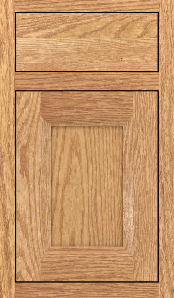 Huchenson Oak Inset Cabient Door in Natural