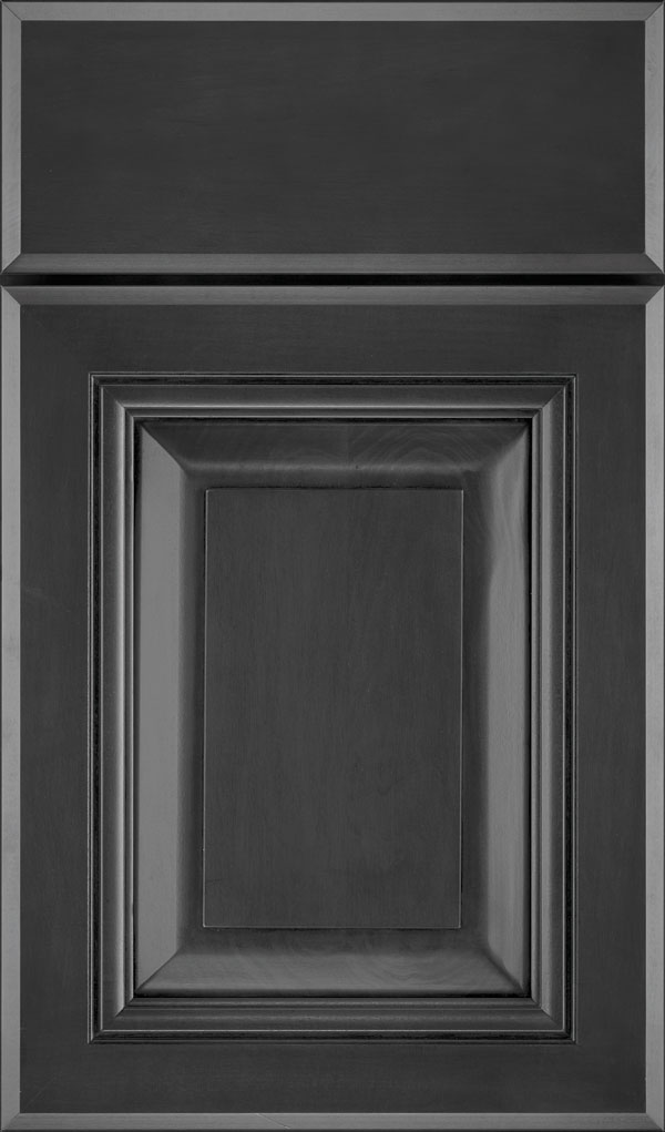 Lexington Maple Raised Panel Cabinet Door in Cobblestone
