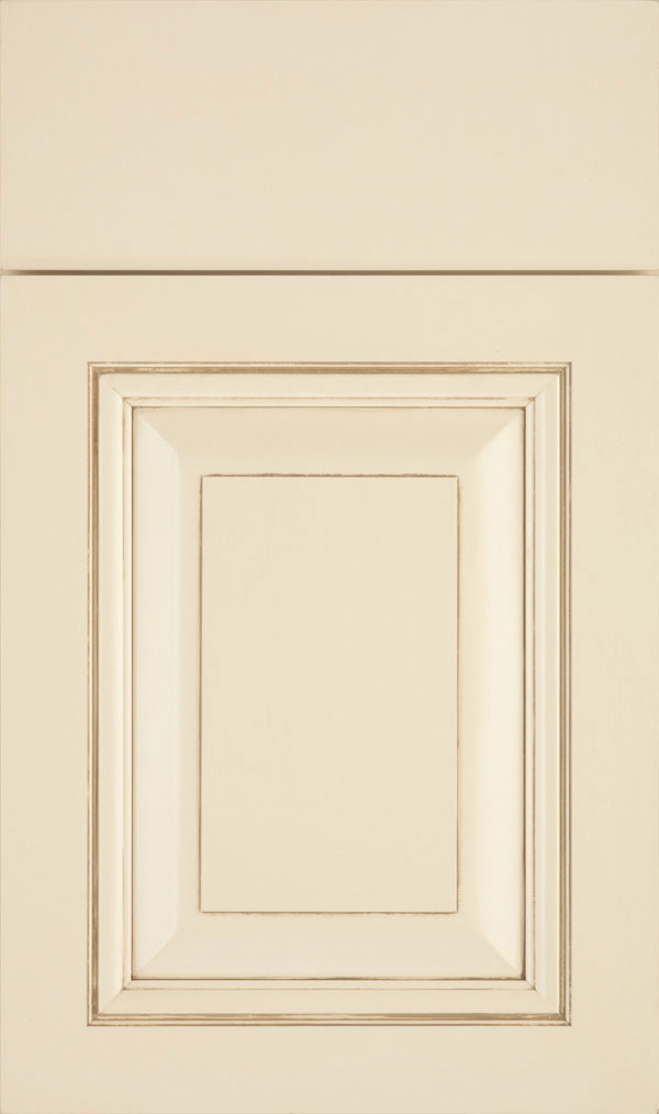 Lexington Maple Raised Panel Cabinet Door in Jasmine Coriander
