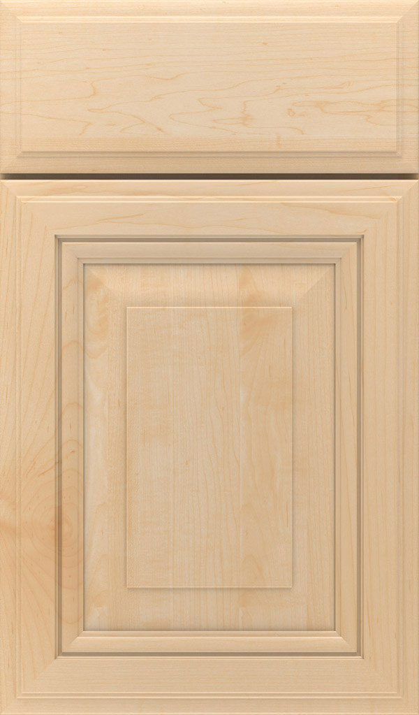 Lexington Maple Raised Panel Cabinet Door in Natural