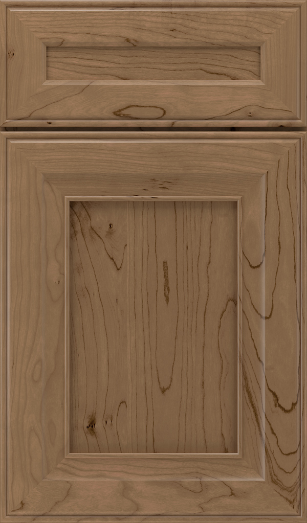 leyden_5pc_cherry_flat_panel_cabinet_door_gunny