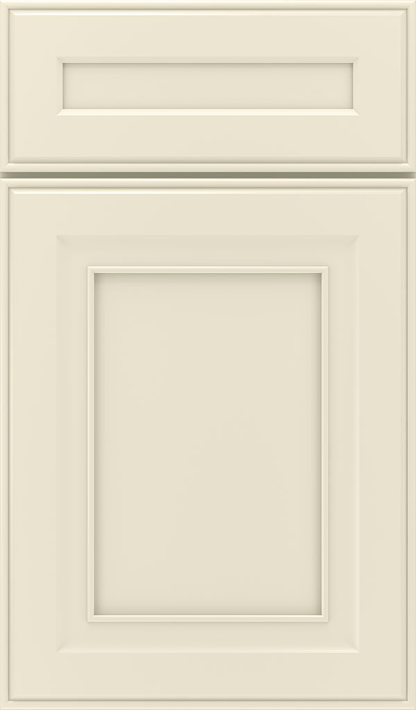 Leyden 5 Piece Maple Flat Panel Cabinet Door in Chantille