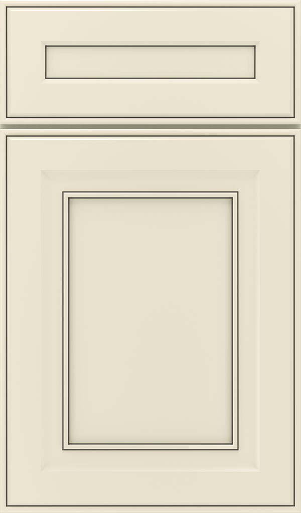 Leyden 5 Piece Maple Flat Panel Cabinet Door in Chantille Espresso