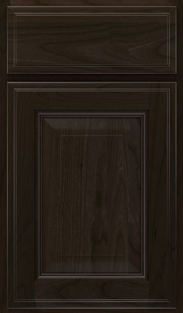 Madison Cherry Raised Panel Cabinet Door in Teaberry