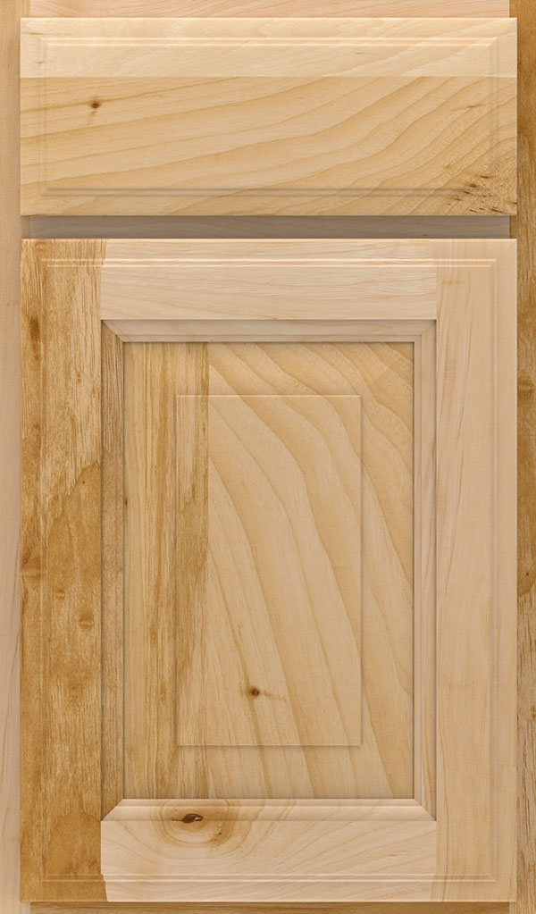 Madison Hickory Rasied Panel Cabinet Door in Natural