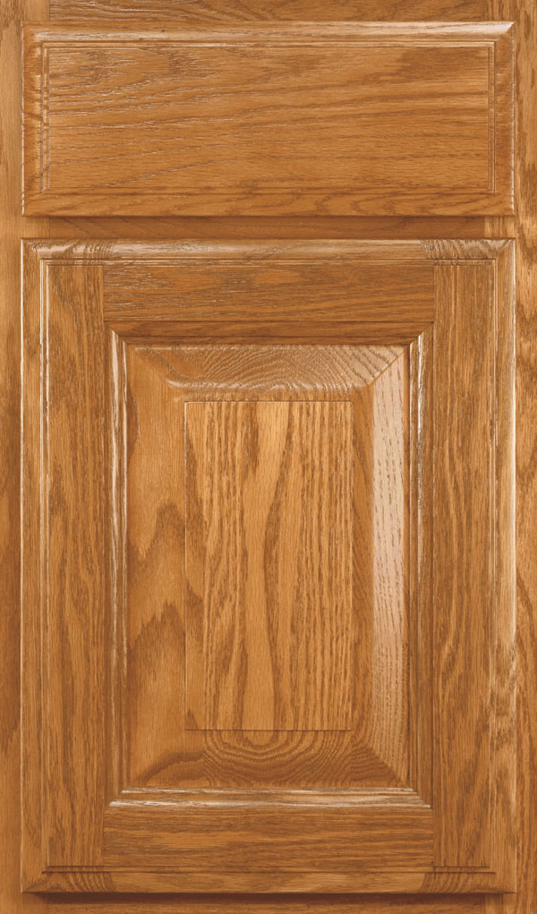 Madison Oak Rasied Panel Cabinet Door in Pheasant