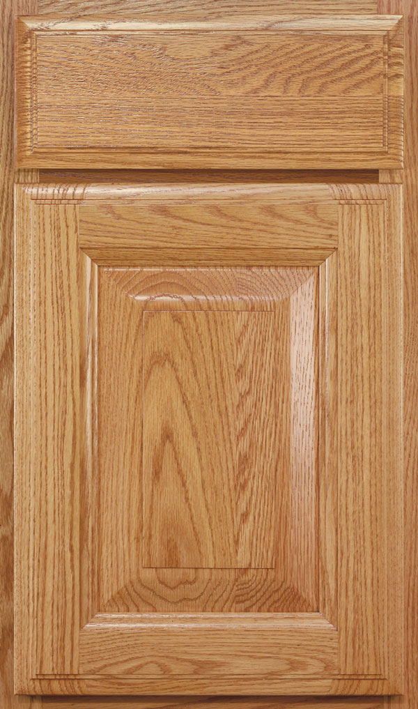 Madison Oak Rasied Panel Cabinet Door in Wheatfield