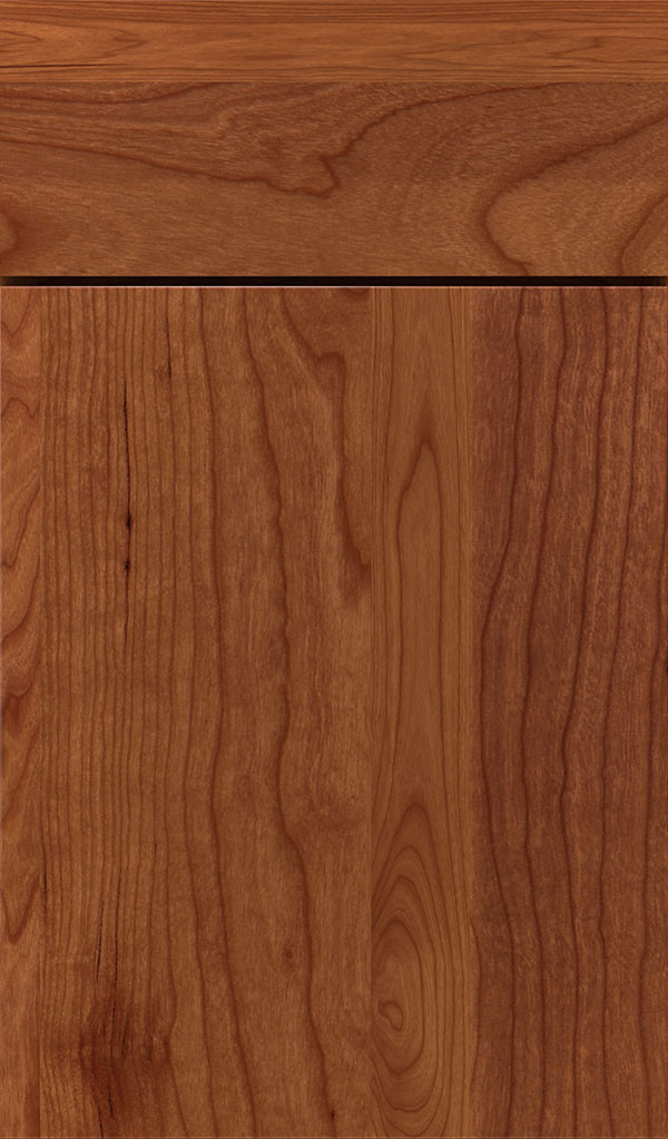 Marquis Cherry Slab Cabinet Door in Brandywine