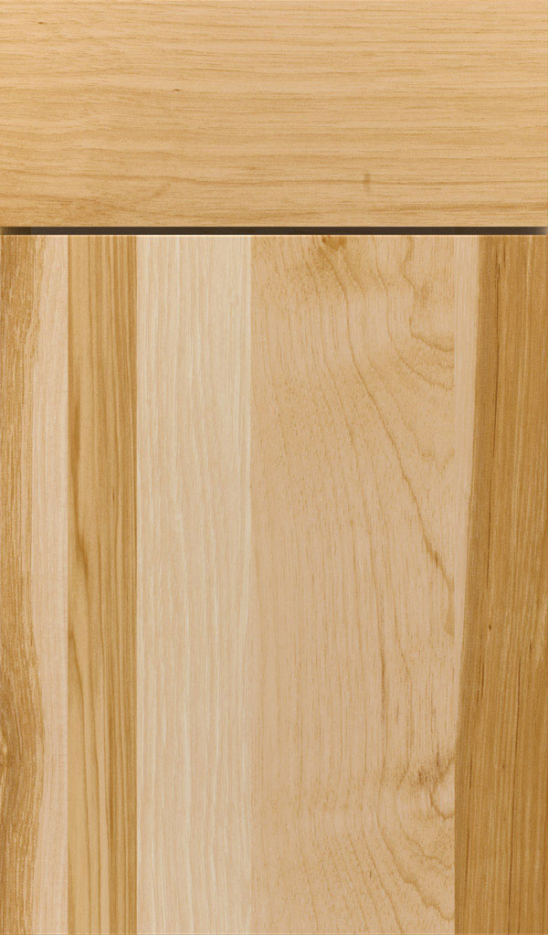 Marquis Hickory Slab Cabinet Door in Natural