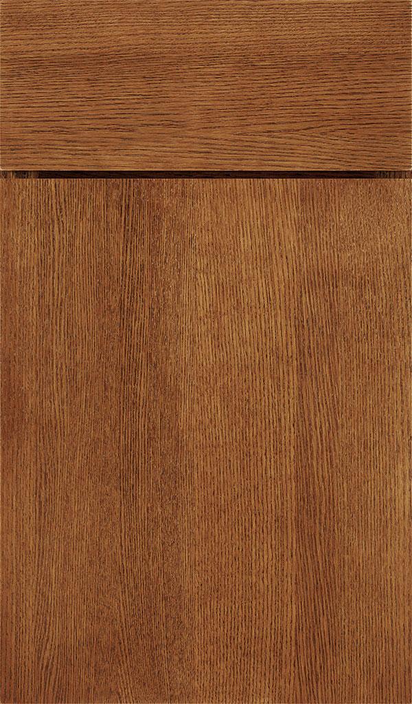 Suede Cabinet Stain On Quartersawn Oak Decora